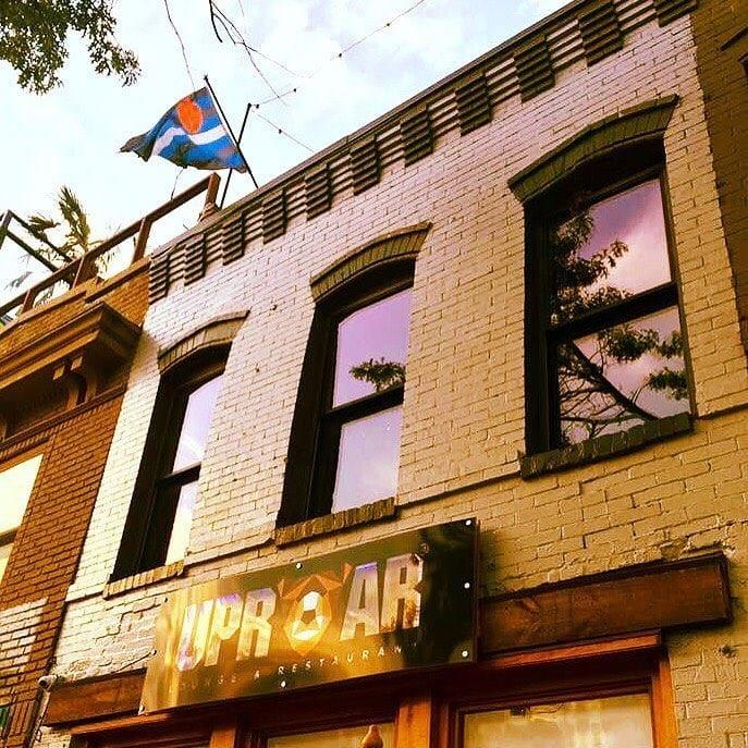 uproar building front