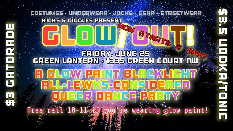 Kicks & Giggles Glow Out